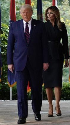 President & First Lady Melania Trump, 9/26/20
