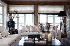 Wauw wat een stijlvolle woonkamer!