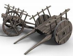 browse, DAZ Studio: Medieval hand cart - A simple medieval wooden hand cart. Craft Stick Crafts, Wood Crafts, Diy And Crafts, Paper Crafts, Wooden Toy Cars, Wood Toys, Hand Cart, Wooden Cart, Woodworking Toys