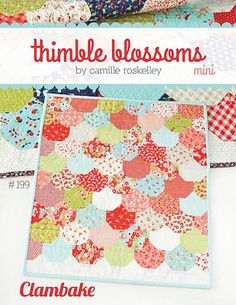 Mini Clambake Quilt Kit Featuring Charm Pack of Little Ruby by