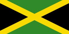 Jamaica flag is divided in 4 equal parts green and 2 black) by golden stripes. Jamaican flag colors, meaning and history. old Jamaica flag images. Flags Of The World, Countries Of The World, Jamaica Flag Image, Flag Of Jamaica, Commonwealth, Bob Marley, Albania, Jamaica Country, Francois Feldman
