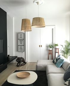 Ikea hack: Viktigt from basket to pendant lights by mommodesign