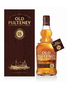 Old Pulteney 25 year (£295)