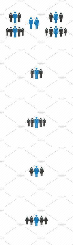 Business Men & Women Human Vector. $5.00