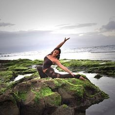 Yoga in Hawaii..this is y I <3 it here!