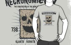 I found 'NecronomiCON '11 T-Shirt by Andy Hunt' on Wish, check it out!