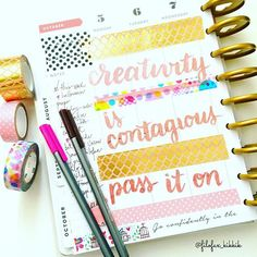 filofax_kikkik: I really enjoy using one of my happy planners for journalling.
