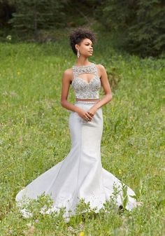 Morilee Prom 99059  - A-Line Prom Gown Featuring a Beaded Lace Bodice and Full Tulle Skirt. Zipper Back Closure. Colors Available: Black/Blush.  - Morilee Prom Estelle's Dressy Dresses in Farmingdale, NY - Prom 2017 - Prom dresses