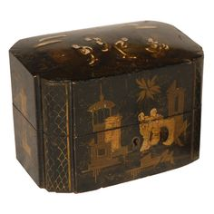 19th C. Chinoiserie Box