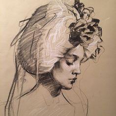 Teresa Oaxaca - self portrait