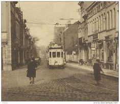 Jette-Saint-Pierre - Rue Léon Théodore - Tram  ( Voir Verso ) - Jette Pays Europe, Archi Design, Brussels, Rue, Vintage Postcards, Locomotive, Trains, History, Photos
