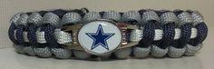 Dallas Cowboys Paracord Bracelet  Free by ArmCandyDesignsTN, $16.00