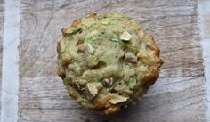 Low FODMAP zucchini muffins! Make with banana, oats and walnuts too!