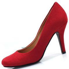 Kevel Red F-suede Round Toe Dress Pump Stiletto Heel Professional Women Shoes-9 Sully's,http://www.amazon.com/dp/B00HI0SQ06/ref=cm_sw_r_pi_dp_9gNktb187J16ZFD3