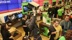 Microsoft lance sa console Xbox One...