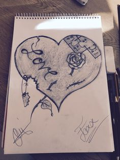 Love in a drawing.
