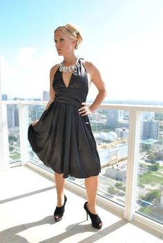 Gaile cetim vestido preto vestido na altura do joelho lottoe halter vestido preto halter top costas nuas da cintura império época natalícia das mulheres moda vestuário mulher