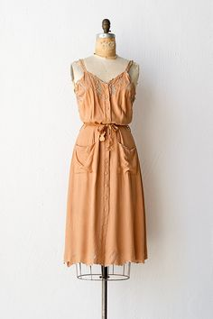 vintage 1970s dress   70s dress   Sienna Sunset Dress