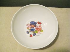 Vintage Strawberry Shortcake Blueberry Muffin Bowl For Sale On Etsy.