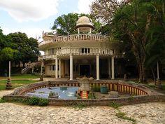 La Casa abandonada de Marcos Pérez Jiménez en Caracas