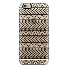 iPhone 6 Plus/6/5/5s/5c Case - Tribal Coachella Black (52 CAD) ❤ liked on Polyvore featuring accessories, tech accessories, iphone case, tribal print iphone cases, iphone cover case, slim iphone case and apple iphone cases