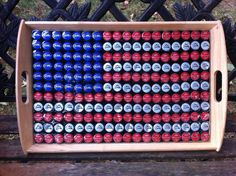 Diy Bottle Cap Projects For Creative People - Best Craft Projects Bottle Cap Table, Beer Bottle Caps, Bottle Cap Art, Beer Caps, Bottle Top Crafts, Bottle Cap Projects, Diy Bottle, Plastic Bottle Tops, Beer Cap Crafts