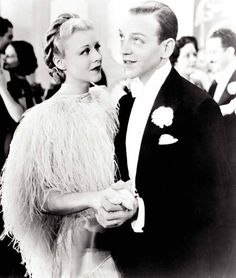Still of Fred Astaire and Ginger Rogers in Top Hat  Wen it comes to a woman and a horse one just let's nature take it's course.  F.A. Quote in T.H.