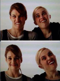 McPeck x Rookie Blue : Missy Peregrym and Charlotte Sullivan