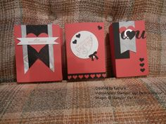 Treat Bag Sizes Valentine Treat bag punch board Stampin Up
