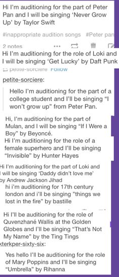 Hi, I am auditioning for the role of Mark Cohen and I will be singing 'On my own'-credit goes to person on tumblr whose url I can't remember.