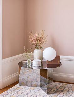 pastellrosa är populärt 2019 – här hos beckers Home 21, Terracotta, Pretty Room, Interior Design, Interior Colors, Elle Decor, Color Trends, Wall Colors, Industrial Furniture