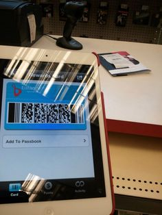"""""""I used my balance rewards card right off my iPad. No more fumbling around for your card, and what's really neat is that it allows you to see your purchase history along with your rewards."""""""