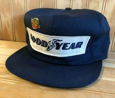 New Goodyear Racing Mens Vintage Classic Cap Hat