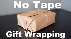 No Tape Gift Wrap : Christmas Gift Wrapping For Guys! Show you care enough to make the Chrismas gift look like you spent time preparing it. Learn how to wrap gifts or packages using only paper and string. Check out our other projects on our website at: Christmas Gift Wrapping, Christmas Gifts, Christmas Things, Diy Gifts, Wrap Gifts, Handmade Gifts, Recycled Gifts, Plastic Waste, Inspirational Gifts