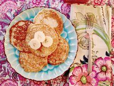 Banana Applesauce Pancakes for Babies