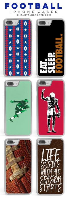 Any football player will love one of our custom, personalized, or patterned iPhone cases as an amazing birthday or end-of-season team gift! We're sure they'll be a hit with your favorite athletes!