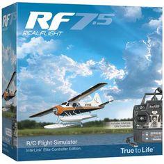 Great Planes RealFlight 7.5 w/InterLink Elite Mode 2