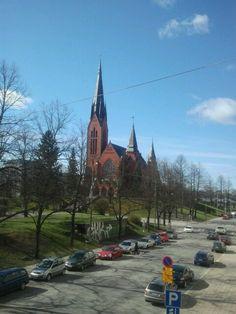 Balcony view. Turku, Finland