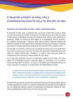 Guia educacion-sexual-integral-nivel-primaria Child Development, Teaching Aids, Schools, Parents