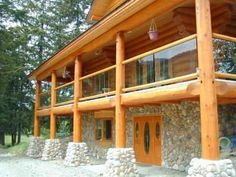 cabin ideas | American Log Cabin Designs are different from other continents. Why???