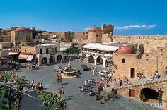 Greece Rhodes, Karpathos Greece, Salt And Water, Greek Islands, Holiday Destinations, Rhode Island, Old Town, Places Ive Been, World