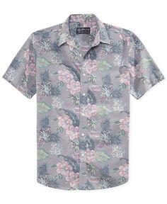 9bd527d0ce557 American Rag Printed Venice Shirt - Casual Button-Down Shirts - Men - Macy s  American
