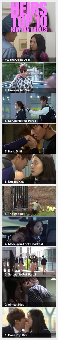 Heirs. This show was kind of boring toward the end, but these kind of moments were what kept me watching