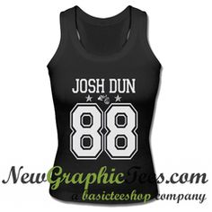 Josh Dun 88 Twenty One Pilots Tank Top