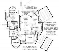 5000 Square Foot House Plans | Plan # GDMFERG   Oklahoma Custom Home Design