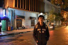 One night stand at Braga City Walk Bandung, Indonesia.