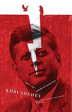 The Print Ad titled Krush was done by The Martin Agency advertising agency for product: The JFK Presidential Library and Museum (brand: The JFK Presidential Library And Museum) in United States. It was released in the Feb Graphic Prints, Poster Prints, Museum Poster, Presidential Libraries, Design Art, Graphic Design, Poster Series, Cool Posters, Creative Inspiration