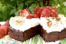 Chokladtryffeltårta med italiensk maräng | Hannas bageri