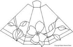 Resultado de imagen para stained glass lamp pattern