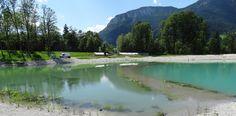 Der Ahornsee wird in einen Badebereich und einen Regenerationsbereich unterteilt, das soll die Wasserqualität und das Speichervermögen gewährleisten. Foto: Klenkhart & Partner Consulting ZT GmbH
